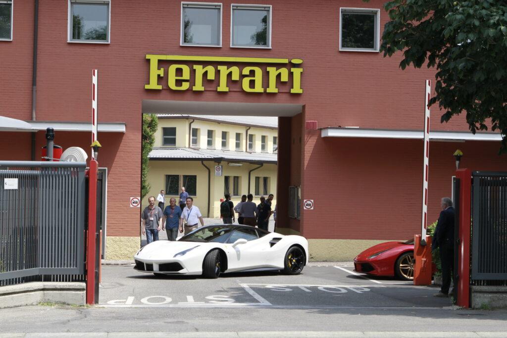 Ferrari fabrikken i Maranello